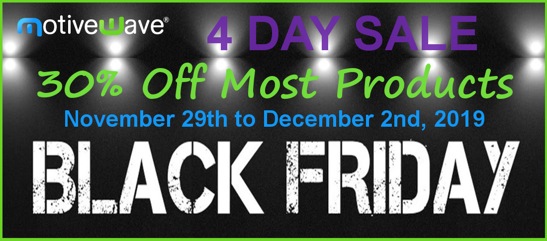 MotiveWave Black Friday Sale – Only One Day Left