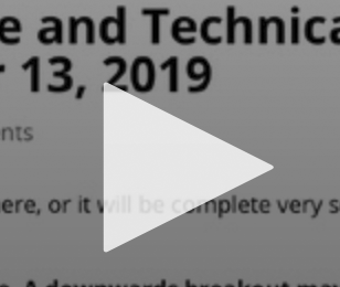 US OIL: Elliott Wave and Technical Analysis   Video – December 13, 2019