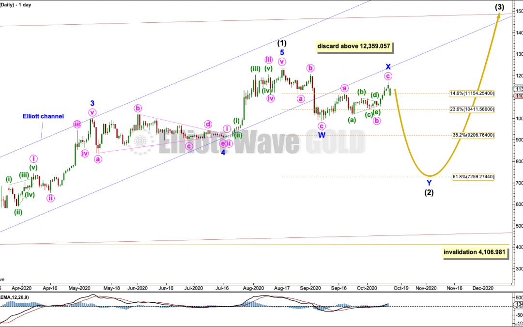 BTCUSD: Elliott Wave and Technical Analysis | Charts – October 13, 2020