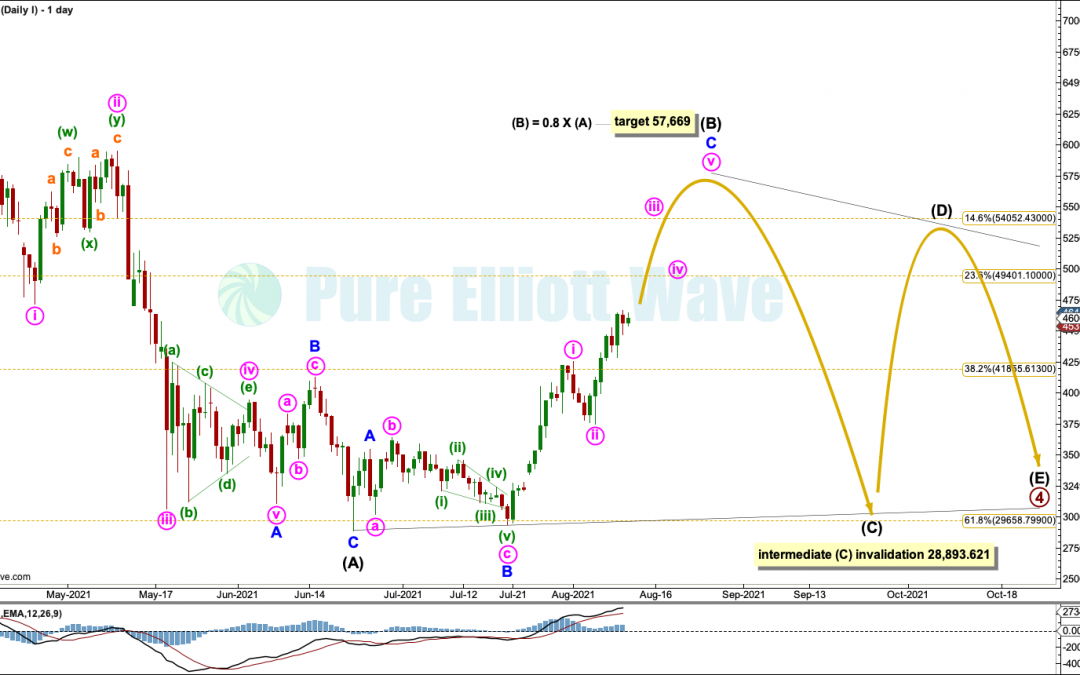 BTCUSD: Elliott Wave and Technical Analysis | Charts – August 11,  2021